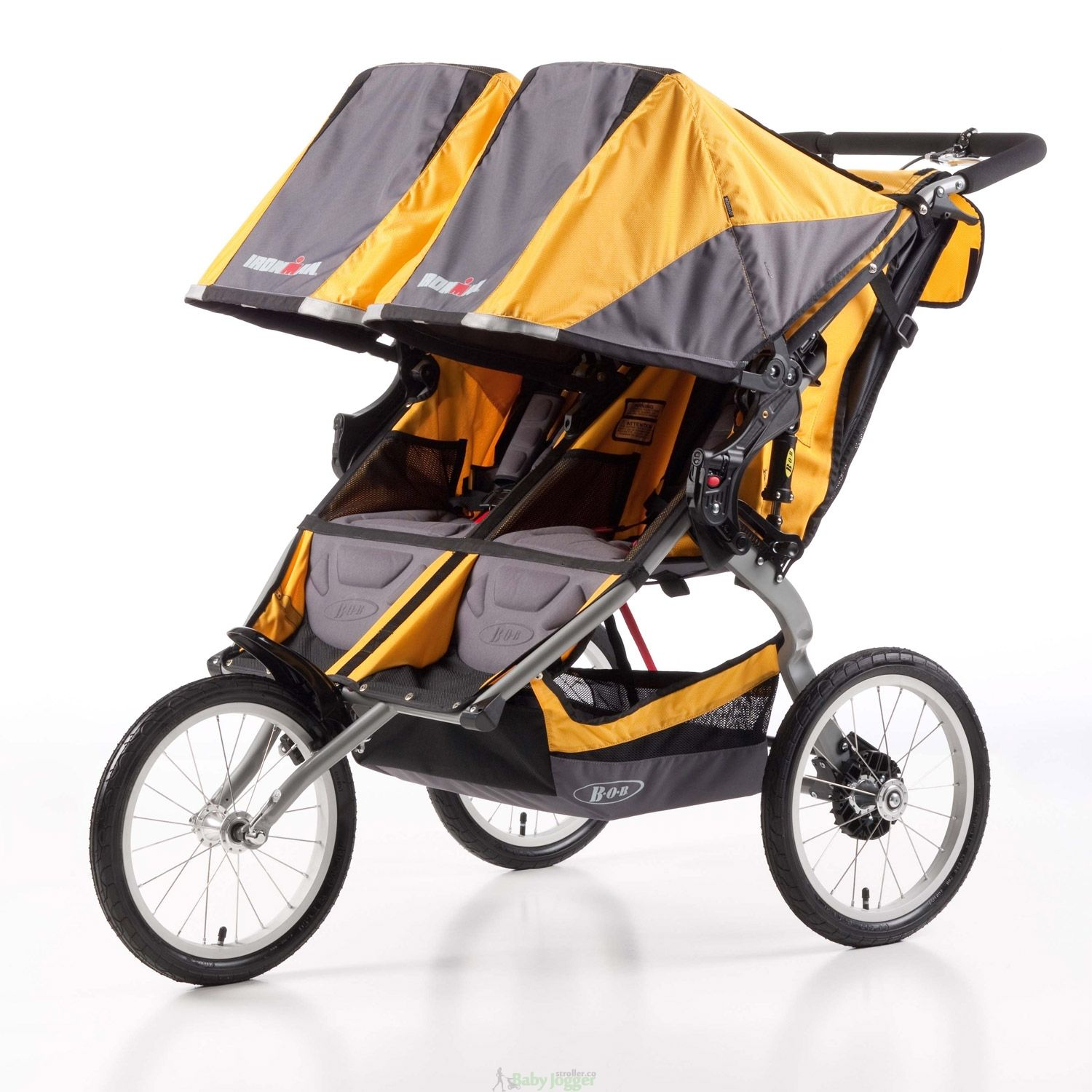 BOB Ironman Duallie Stroller, Yellow | Stroller, Best ...