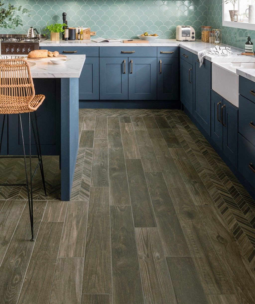 Mora Walnut Mosaic Tile Wood Effect Tiles Wood Effect