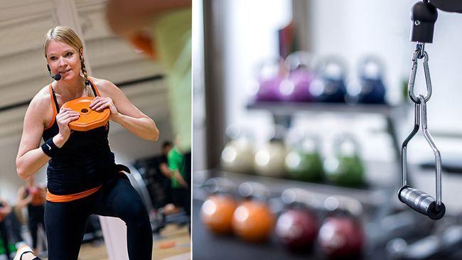 Hur är du klädd när du går till gymmet och tränar?  #Klädkod #Träna #Gym