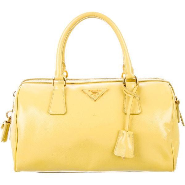 Prada Pre-owned - Yellow Leather Handbag KNowfg