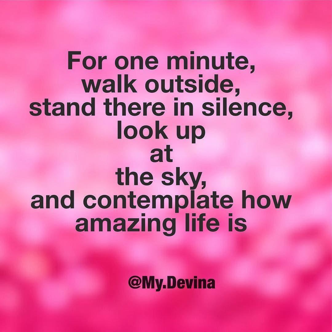 I try to do this daily.. on the way to my car or back.. Instant ...