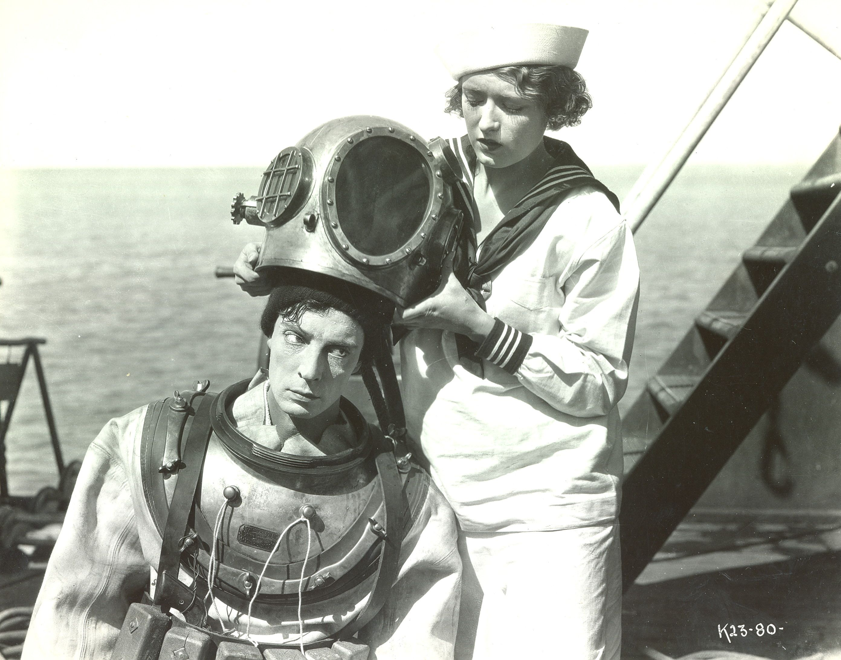 """Buster Keaton in """"The Navigator"""" 