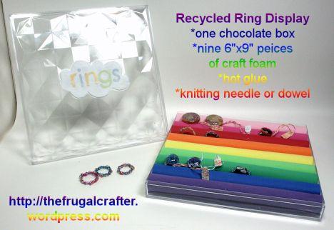 DIY Ring Display Box {Video Tutorial}