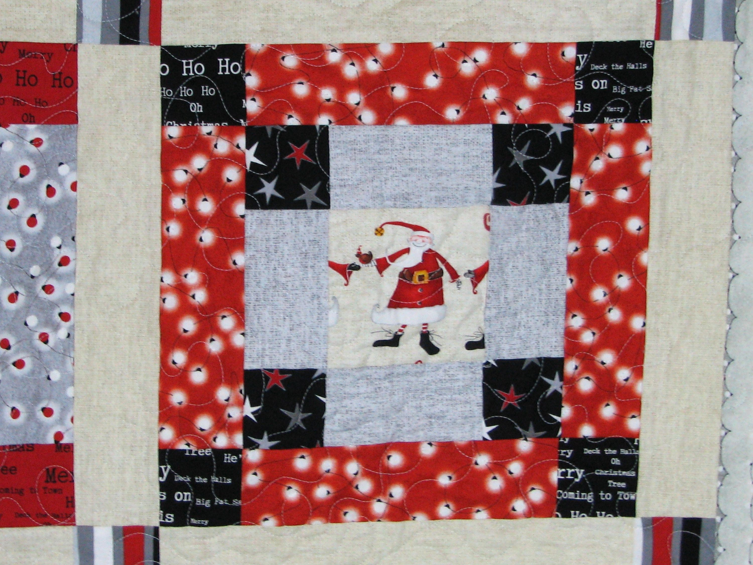 Merry Christmas Quilt Christmas Decor Merry Christmas Quilt Blanket