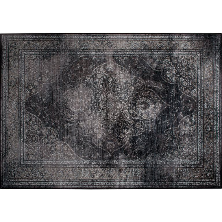 Dutchbone Rugged Dark Vloerkleed 300 X 200 Cm In 2020