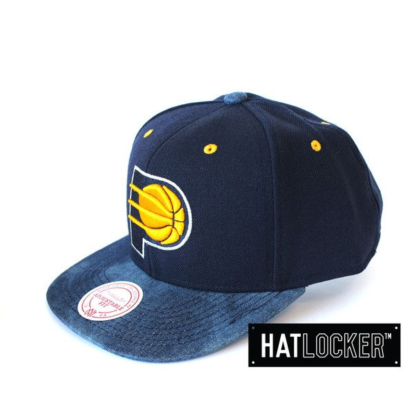 Indiana Pacers Denimes Snapback by Mitchell & Ness