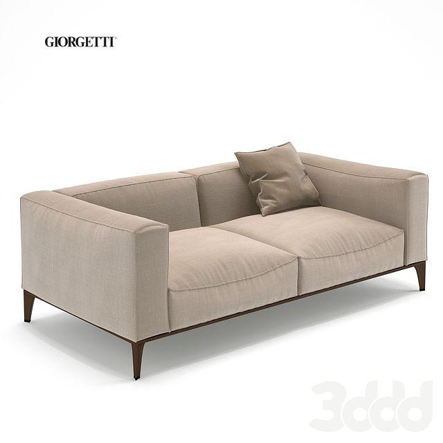 Giorgetti aton 2seater Модели Pro Диваны, кресла Pinterest - bubble sofa von versace