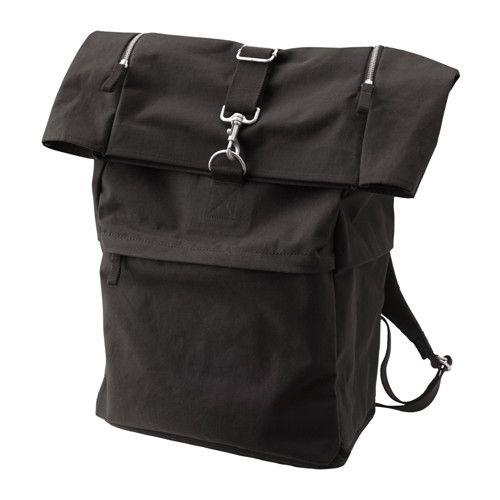 Forenkla Backpack Black 9 Gallon Sac A Dos Sac A Dos Noir Sac