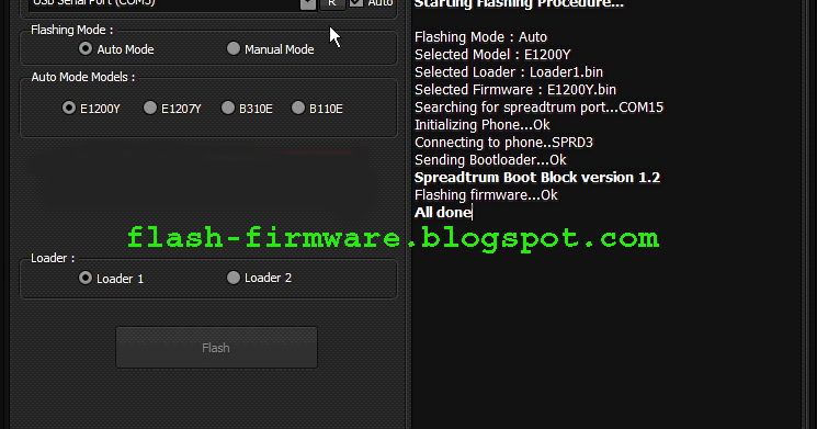DownloadSamsung Feature Phone Flasher ( Aliver v1 2) Tools