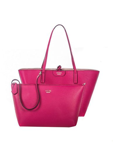 9f80581557 Guess Bobbi Inside-Out Tote Set-PINK-One Size. Find this Pin and more on  Handbags   Purses ...