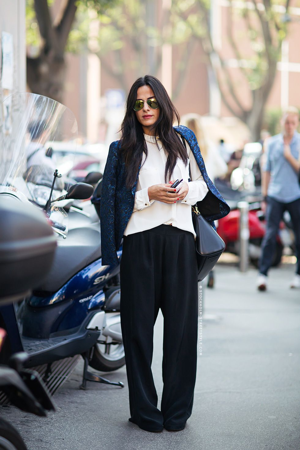 Αποτέλεσμα εικόνας για Wide Leg Pants fall street style