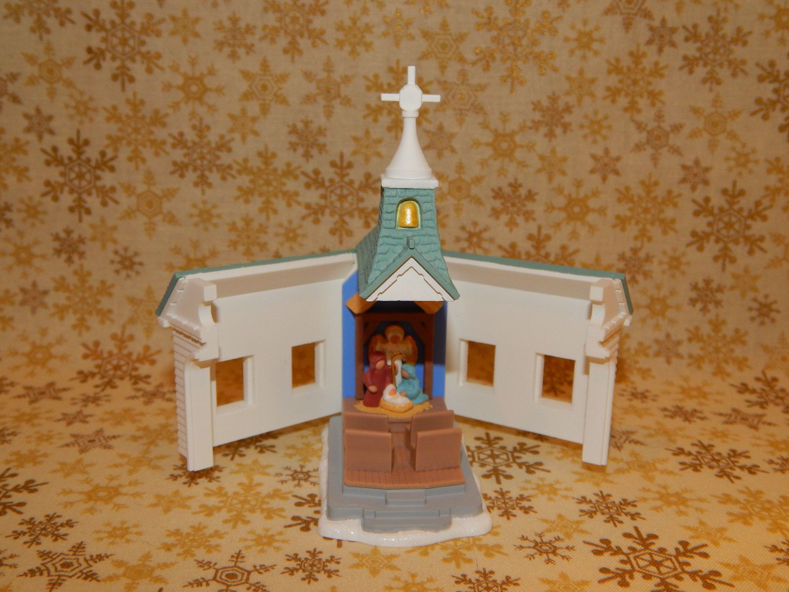 Hallmark Ornament 1996 Come All Ye Faithful Church Opens 1027 | eBay
