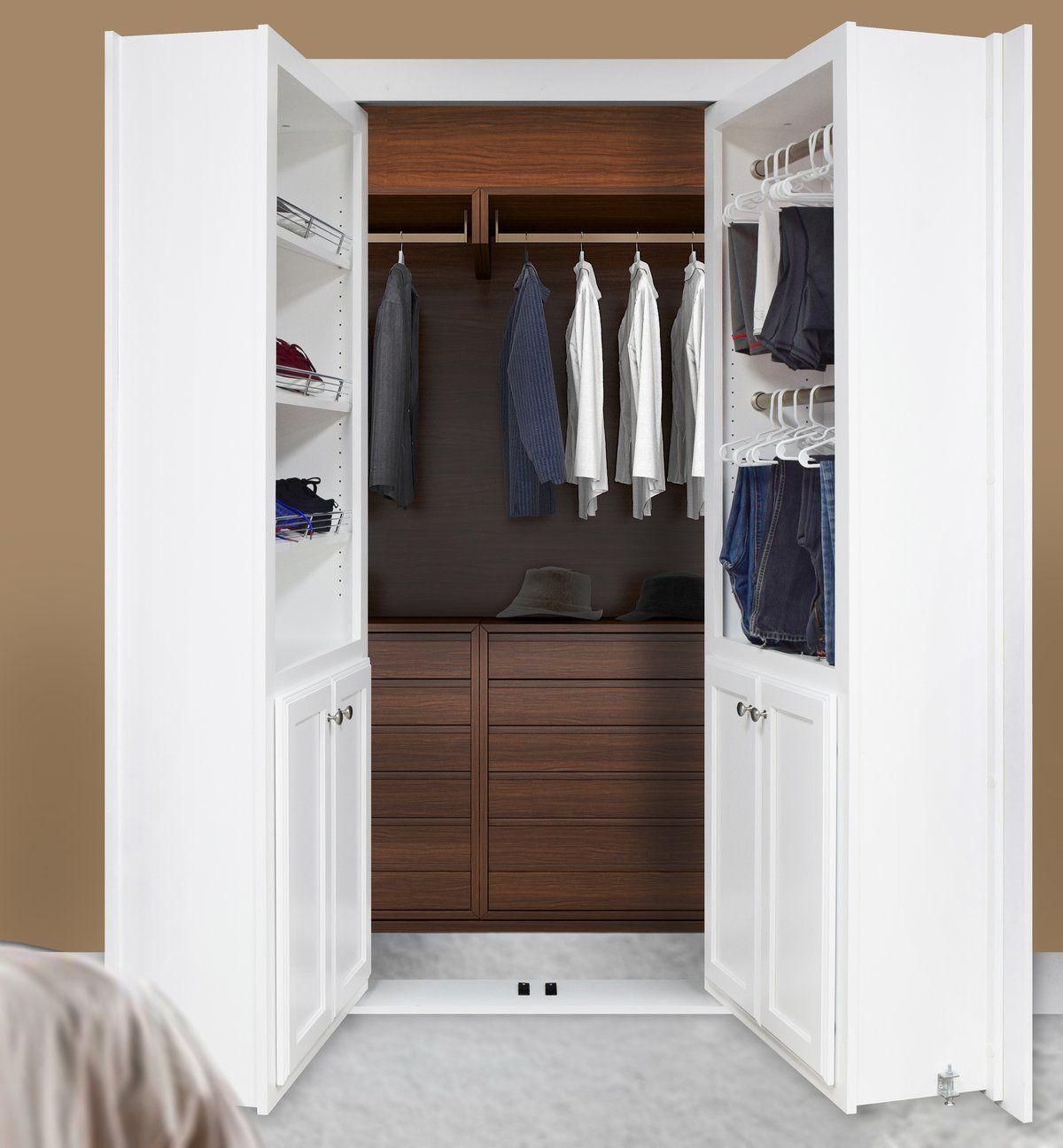 French Style Closet Door (Reversed) Closet doors, Murphy