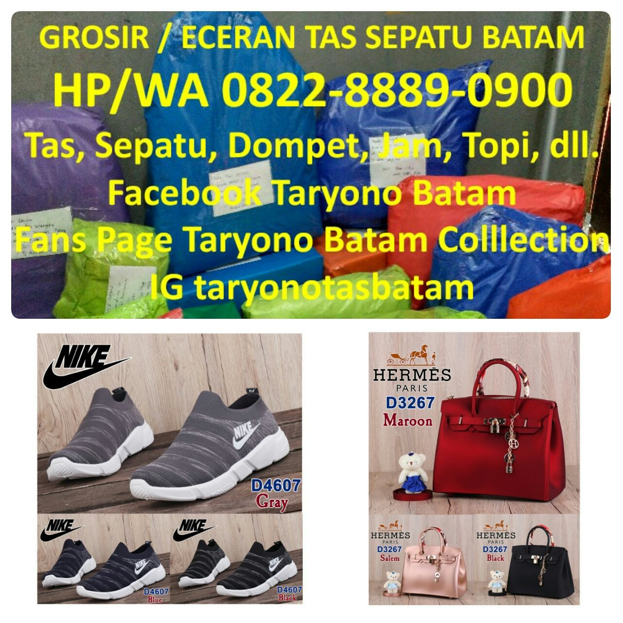 Hub Hp Wa 0822 8889 0900 Tsel Tas Fashion Murah Tas First