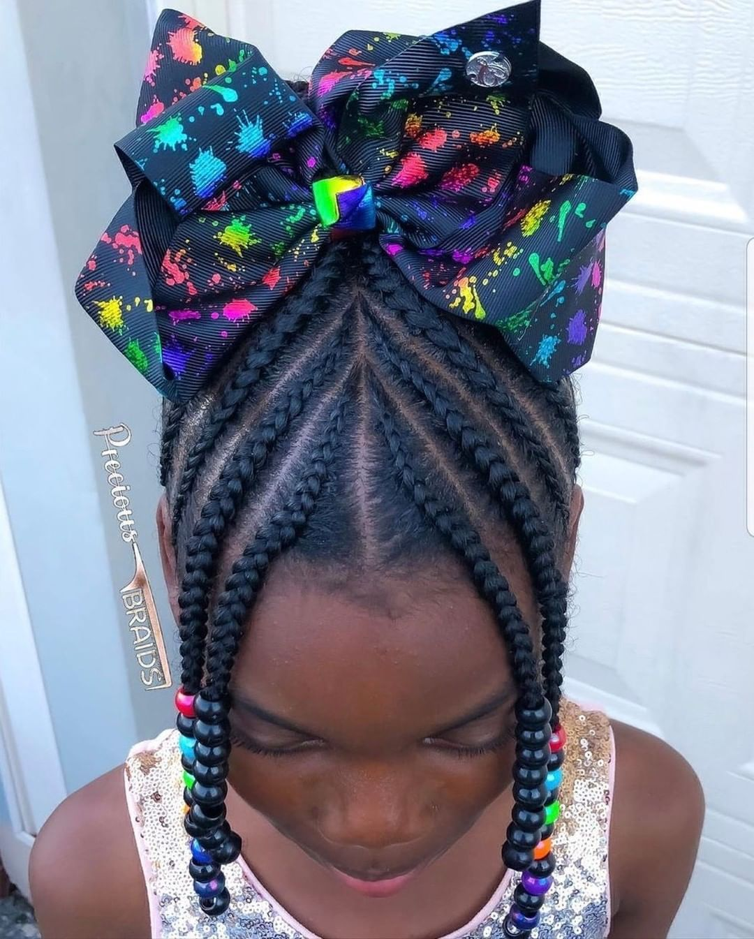 Kidshairstyles Kidsbraids On Instagram Featured Preciiouskids Follow Kissegirl Bea In 2020 Black Kids Hairstyles Girls Hairstyles Braids Kids Hairstyles Girls