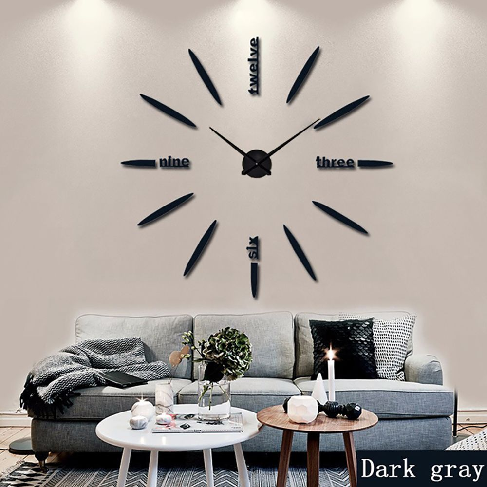Here Is The Collection Of 10 Beat Oversized Clock Or Extra Large Wall Clock You Can Also Find Extra Clock Wall Decor Large Wall Clock Decor Mirror Wall Clock
