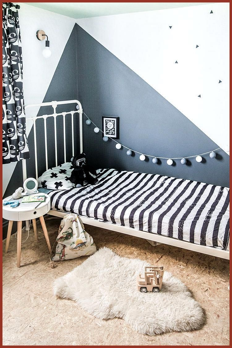 Kid S Bedroom Update Including Curtains For Less Than 60 Skirting Boards And Chandeliers The Kids Bed Affordable Bedroom Decor Affordable Bedroom Bedroom Diy