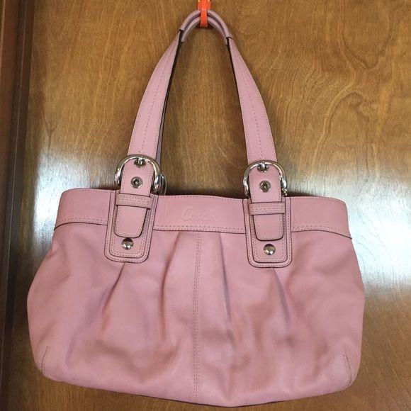 d8b094a4d3 Baby Pink Coach Bag