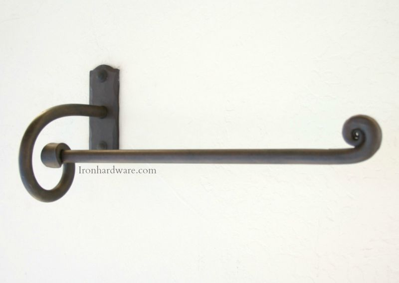 Wrought Iron Towel Bars And Bathroom Hardware Paso Robles Ironworks