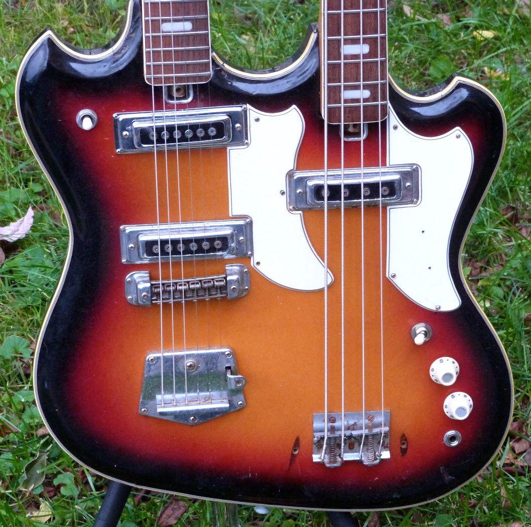 Teisco Prestige Electric Guitar Ibanez Rga42 Wiring Diagram String Bass Double Neck Ics 1058x1051