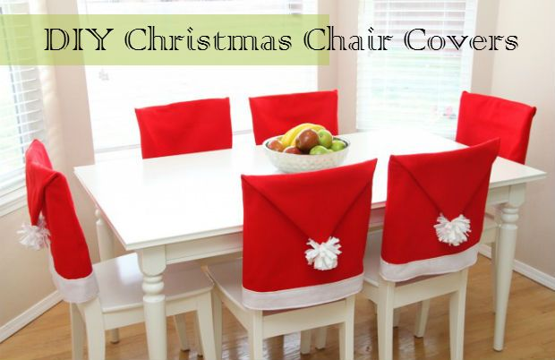 Diy Christmas Chair Covers What A Fantastic Diy Idea To Bring Life