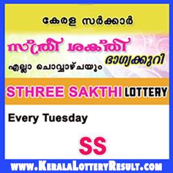 Sthree Sakthi Kerala Lottery Results SS 96 (06 03 2018