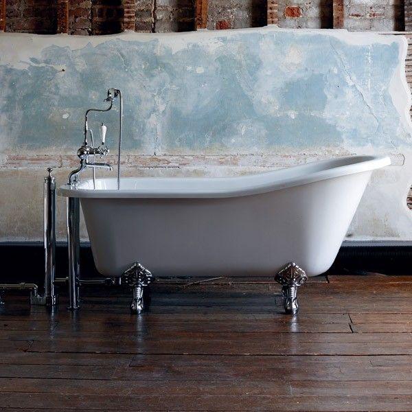 Bathroom Burlington Ideas burlington harewood slipper bath 170 x 73cm - baths - categories