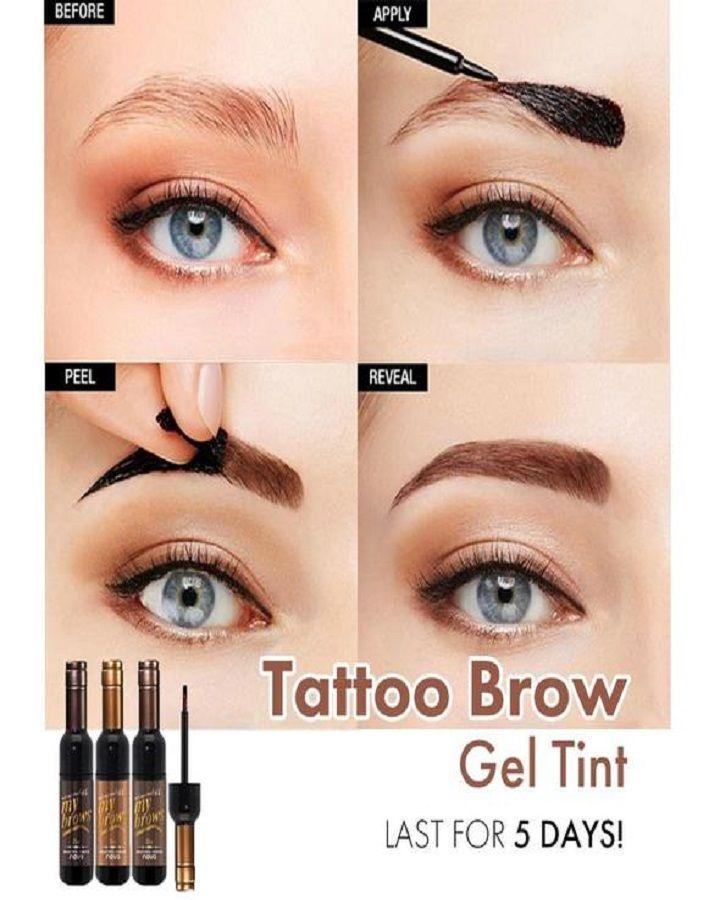 Photo of 💖Tattoo Brow Gel Tint – 60% OFF