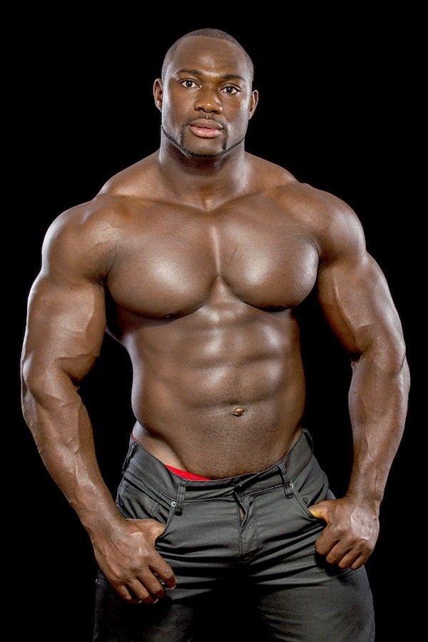 What big black muscle bodybuilders