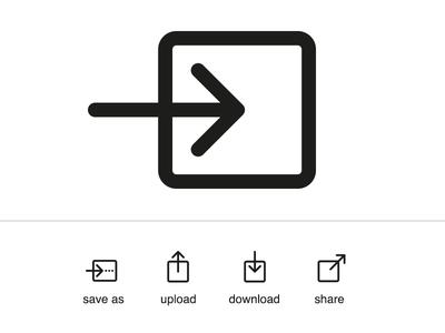 The New Save Icon Icon Save Icon Design