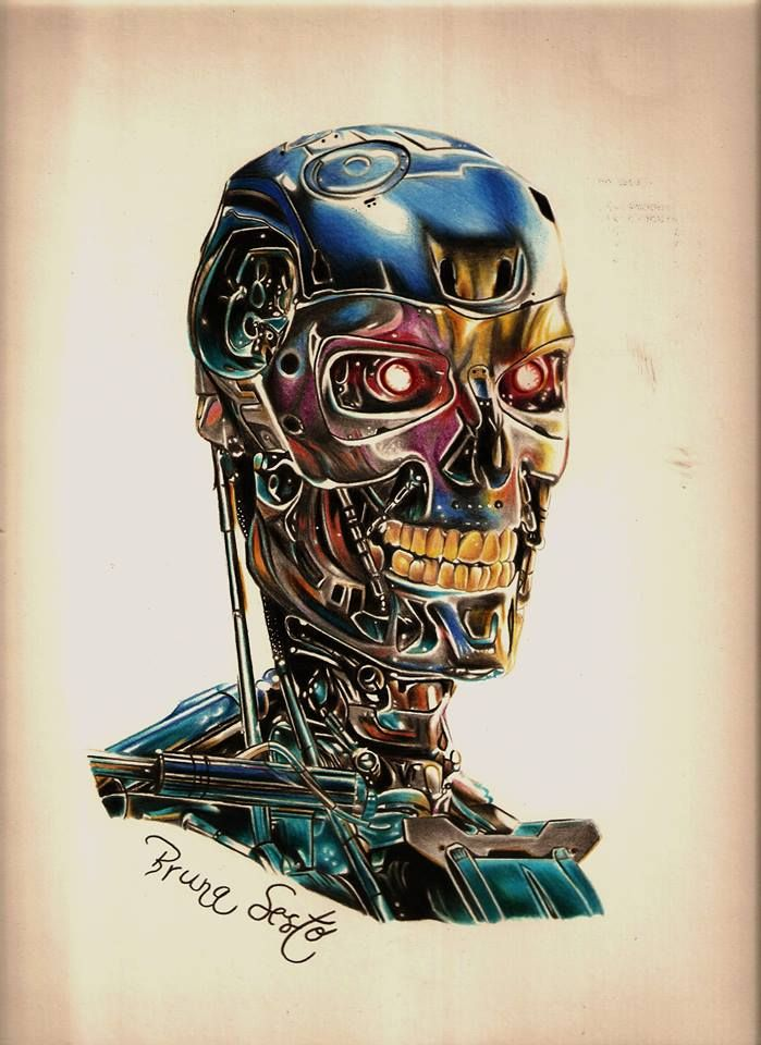 Art De Hoje O Exterminador Do Futuro Arte Bruna Sesto