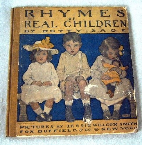 Jessie Willcox Smith Rhymes of Real Children 1st 1903 | eBay
