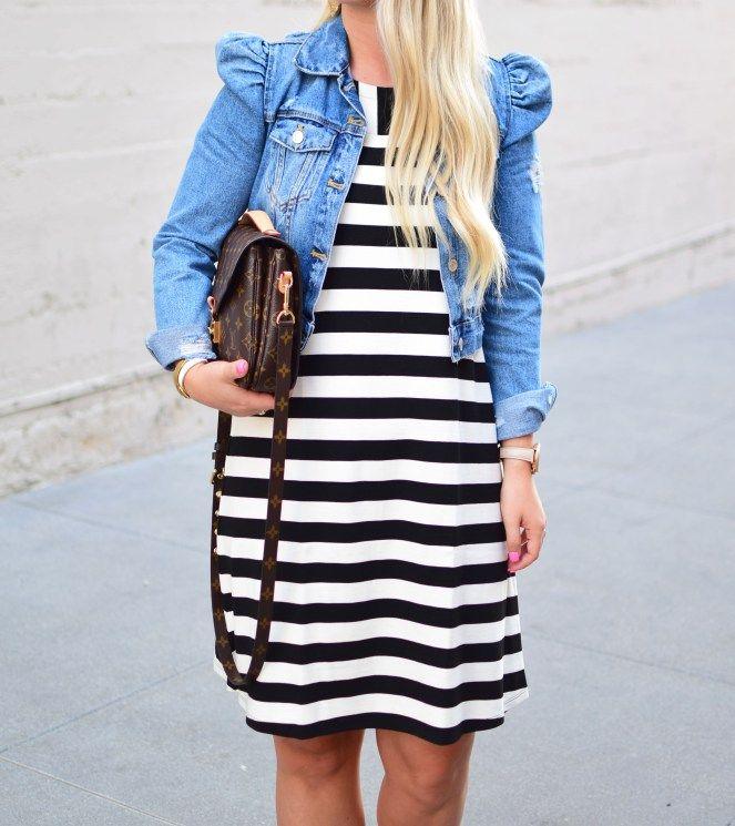 Stripes + Denim + Valentino Dupes – Personally Styled Blog