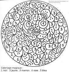 Coloriage Magique Zoo.Maternelle Coloriage Magique Un Lion Ecole Dibujos Para