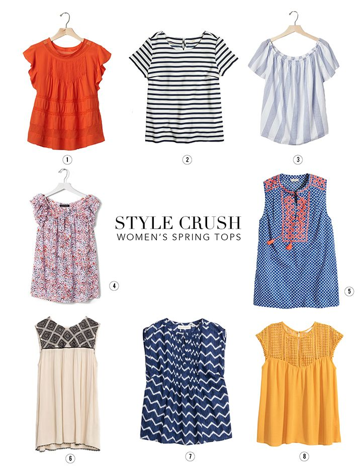 ef6bc06107b Some great finds for spring... our favorite Women s Tops.