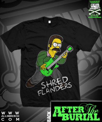 c0d94dd7 ATB SHRED FLANDERS TEE | My Style | Mens tops, Tees, Tops