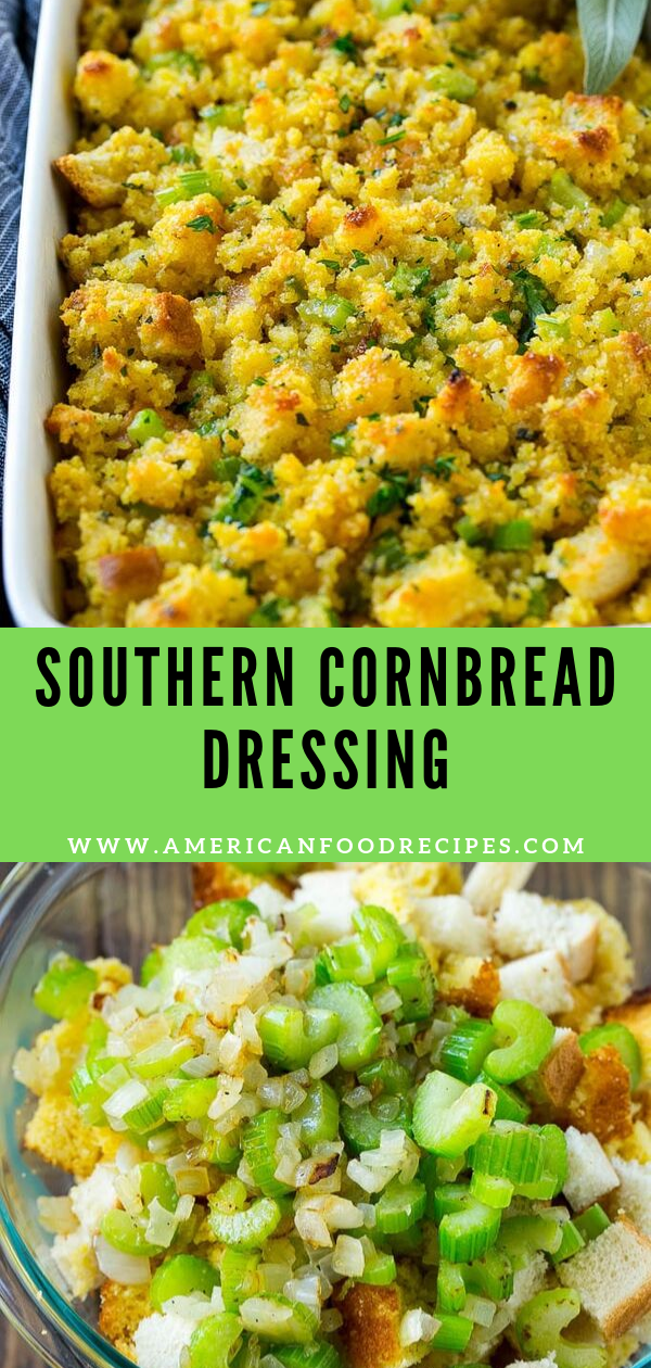 Photo of SOUTHERN CORNBREAD DRESSING,#cornbread #dressing #southern