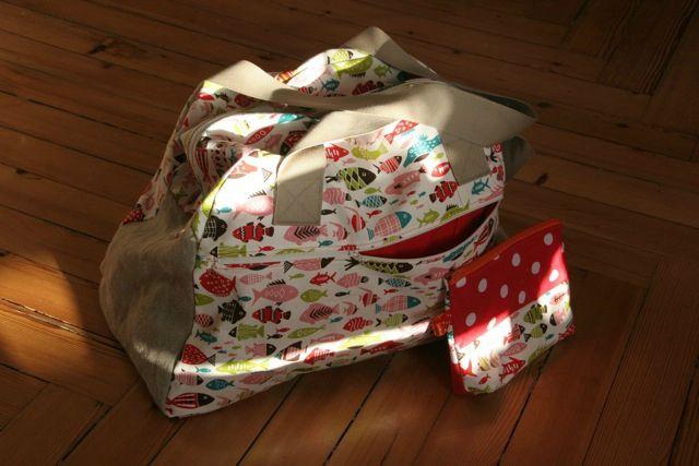 un sac pour le week-end