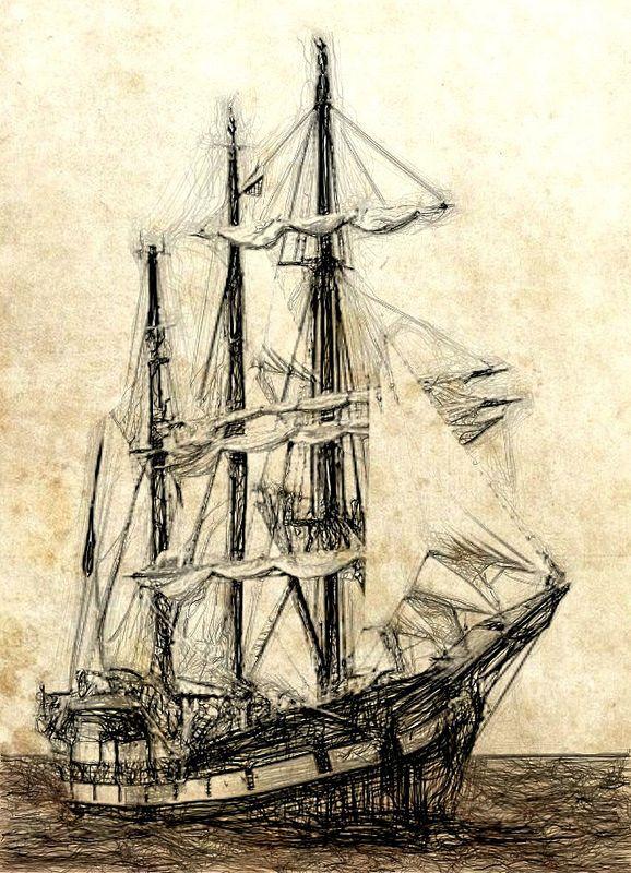 Tall Ship   by Bob Smerecki