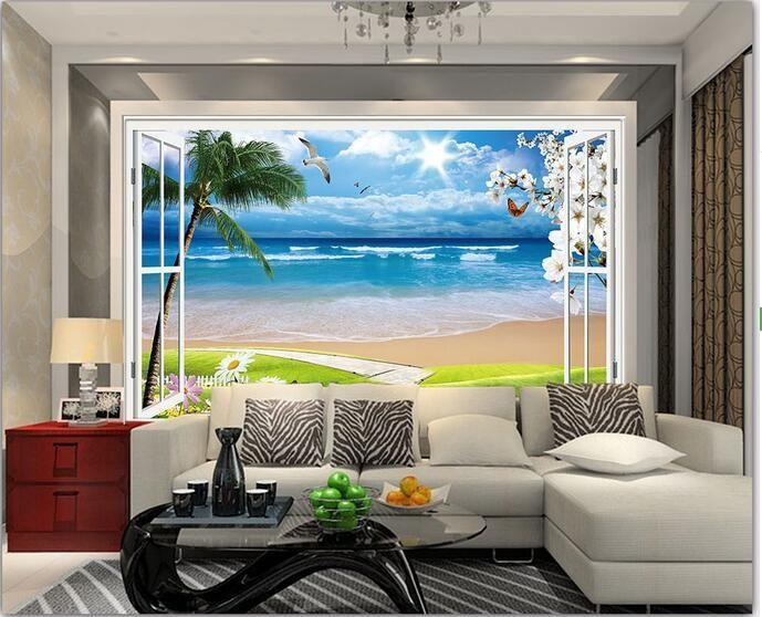 Visit To Buy 3d Wallpaper Custom Mural Non Woven 3d Room