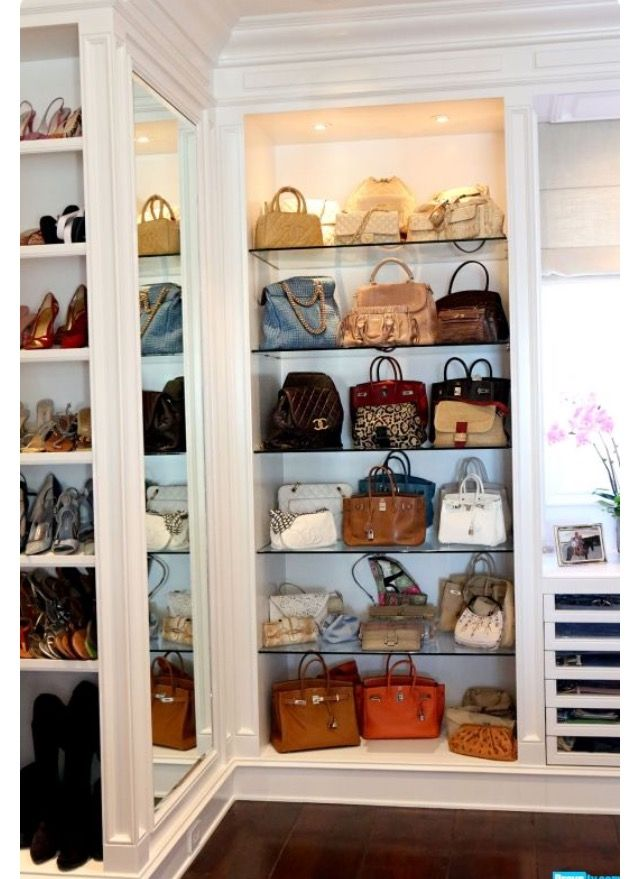 "I'm in love! Going to have this ""handbag"" closet in the future! ~AP~"