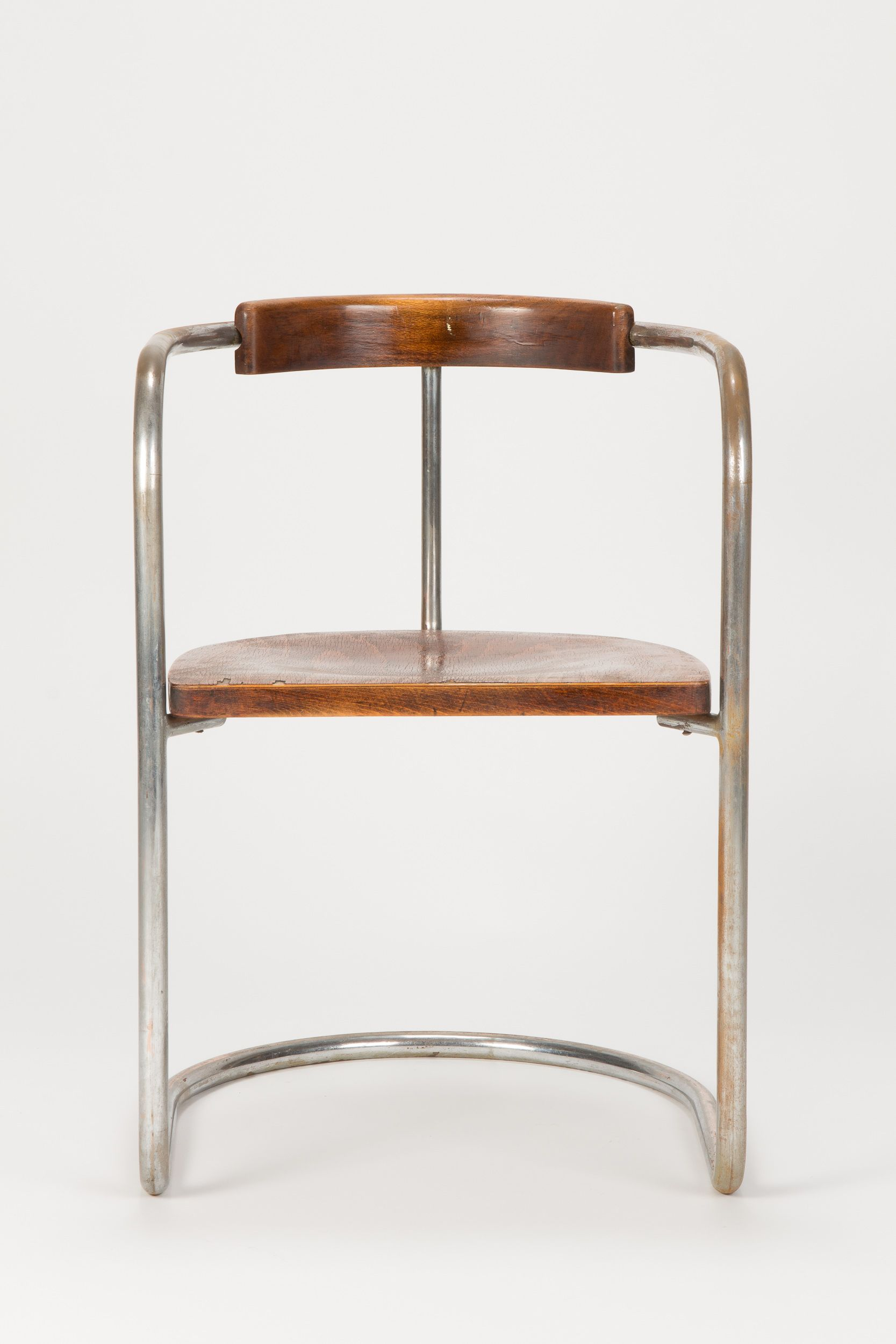 Bauhaus tubular steel lounge chair at 1stdibs - Bauhaus Steel Tube Cantilever Chair 30s Designer And Manufacturer Anonymous Sold By Okay Art