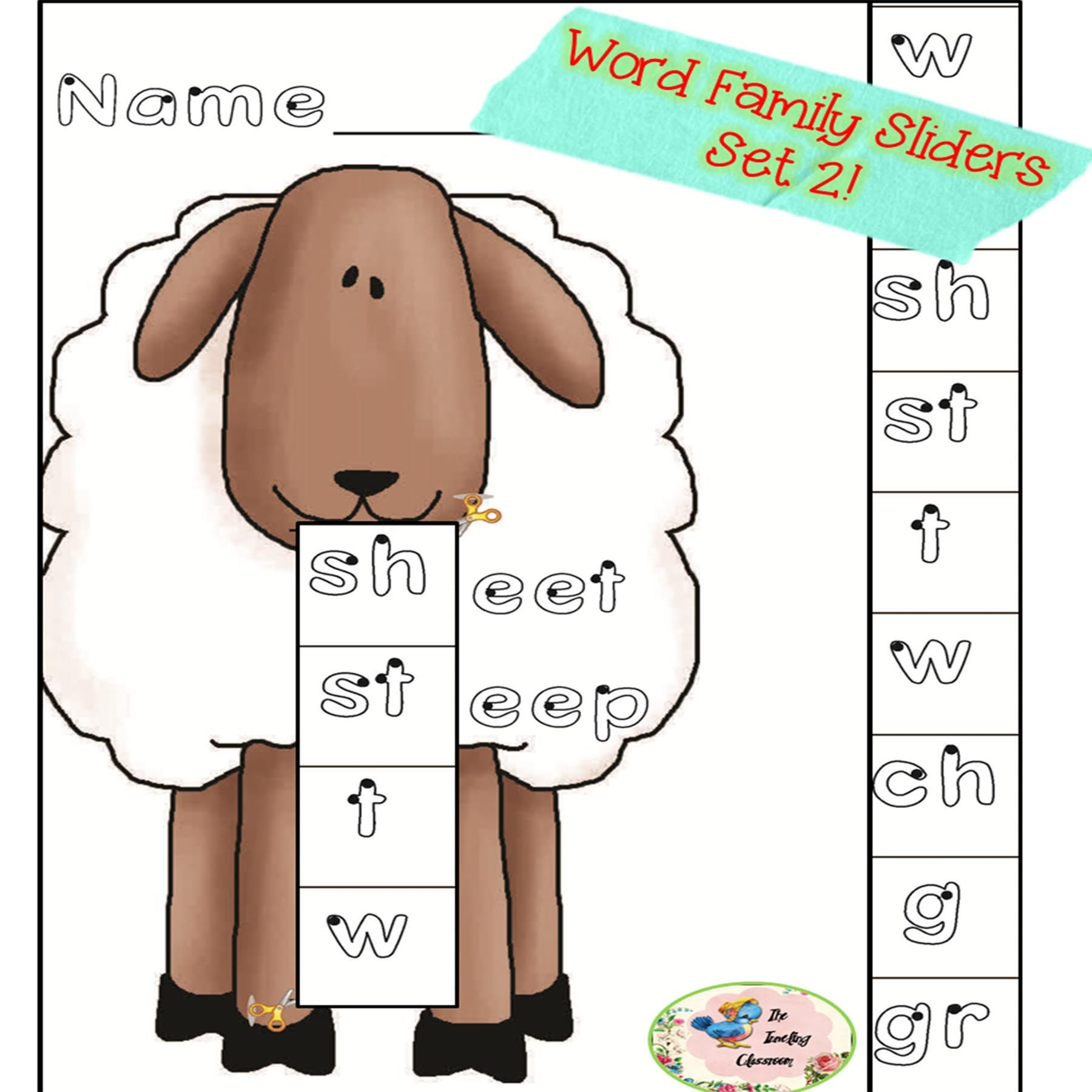 Word Families Set 2 Common Core With Images