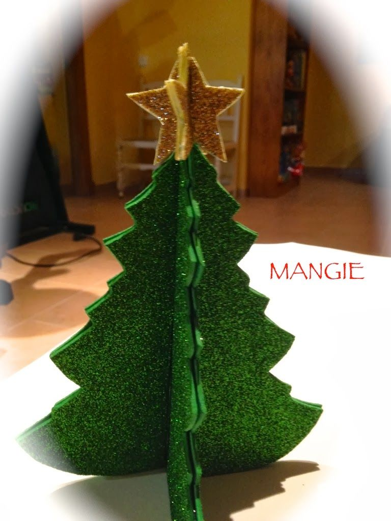 Rbol navidad goma eva foamy christmas decorations - Arboles de navidad manualidades navidenas ...