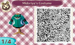 254 My Hero Academia Midoria S Costume Qr Codes Animal