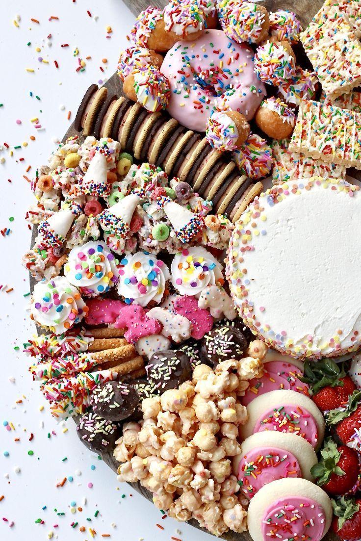 Birthday Dessert Board | The BakerMama