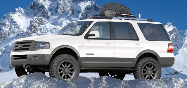 Sema Show Preview 2015 Ford Expedition Ecoboost Activityvehicle