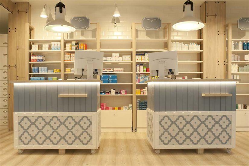 Wood and stoneware Medical Shop Decoration Ideas #014 ...