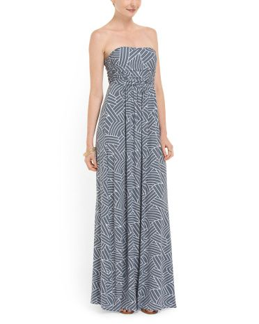 5c6014b55bf9 Strapless Knit Maxi Dress - Dresses - T.J.Maxx | If I had all the ...