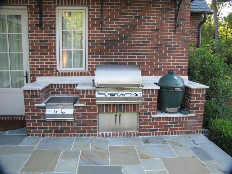 Custom Brick BBQ Grills in 2019 | Outdoor kitchen design ... on